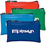 3 x 5 Mini Vinyl Wallet Bags